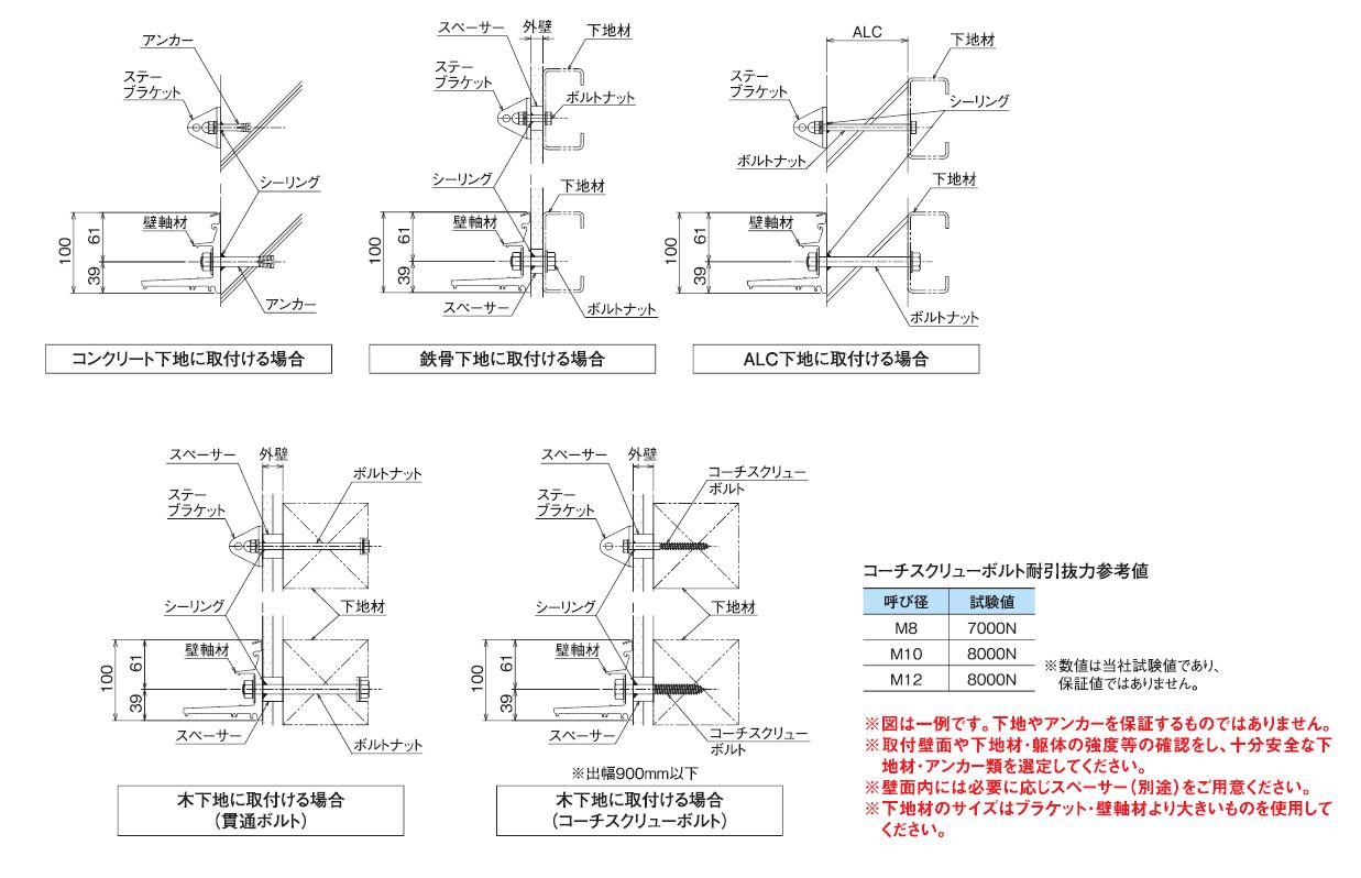 RS-K型 納まり図
